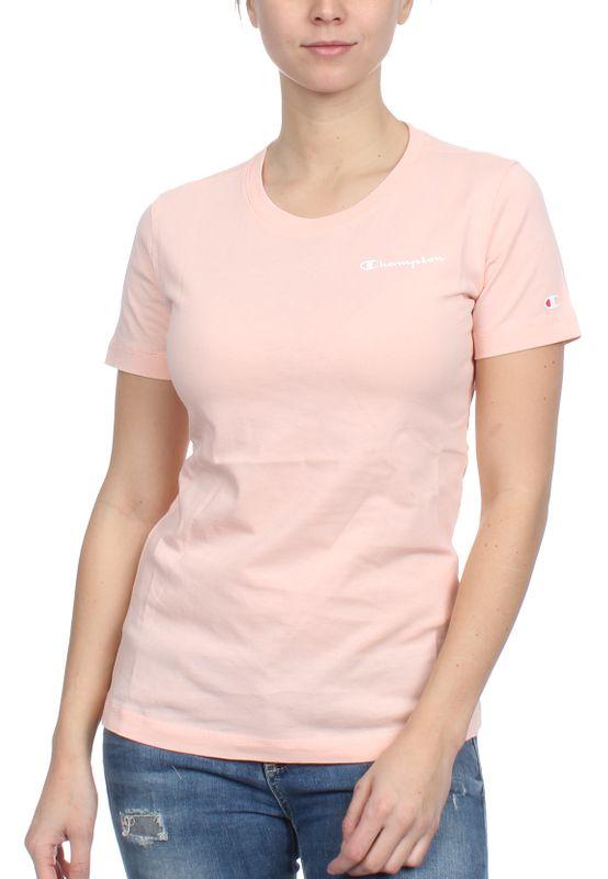 Champion T-Shirt Damen 111924 S19 PS019 IMP Rosa – Bild 0