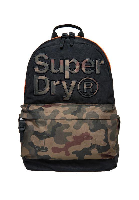 Superdry Rucksack DOUBLE CAMO MONTANA Black – Bild 0