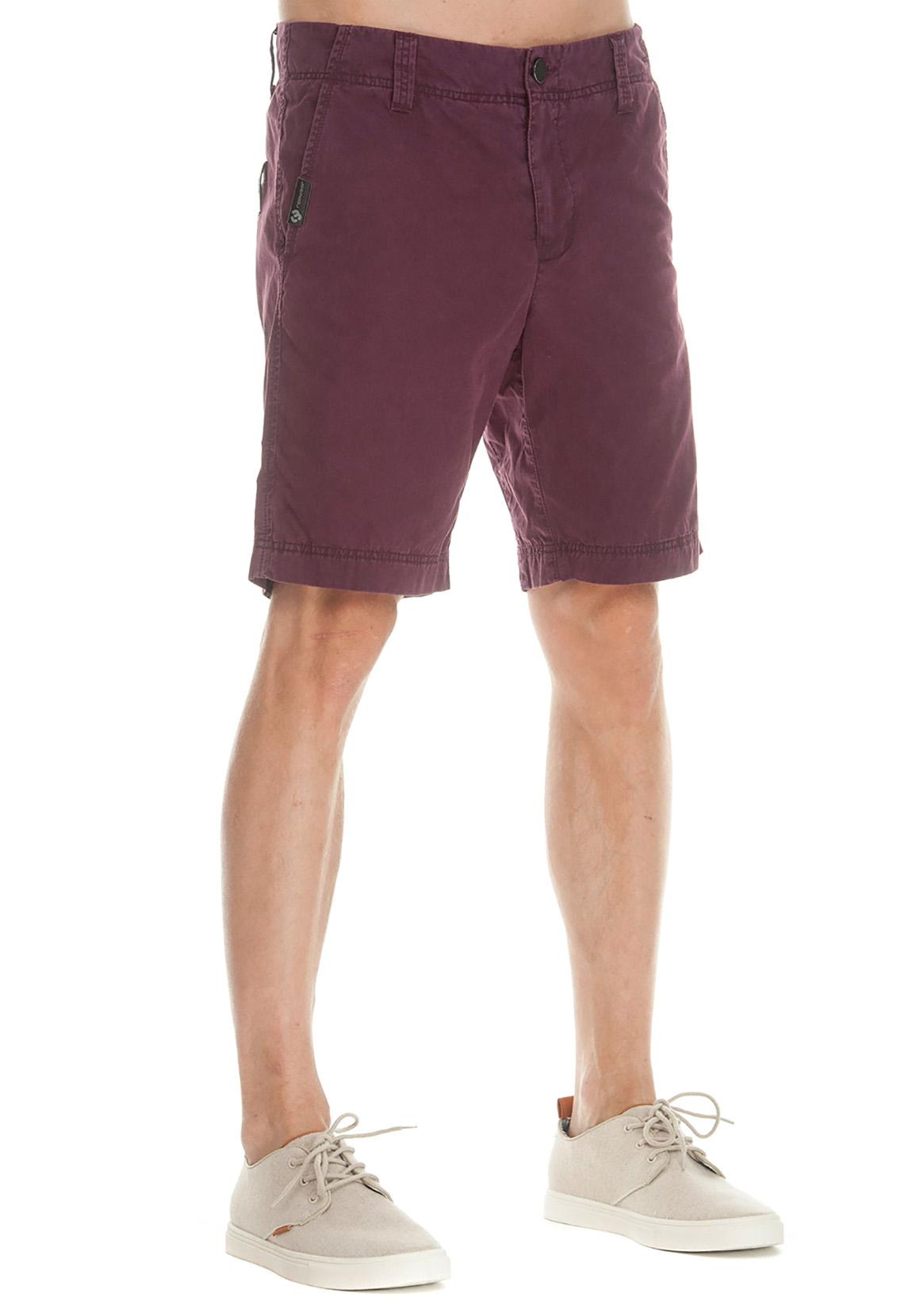 Ragwear Shorts Herren KAREL TINT 1912-50002 Dunkelrot Wine Red 4055