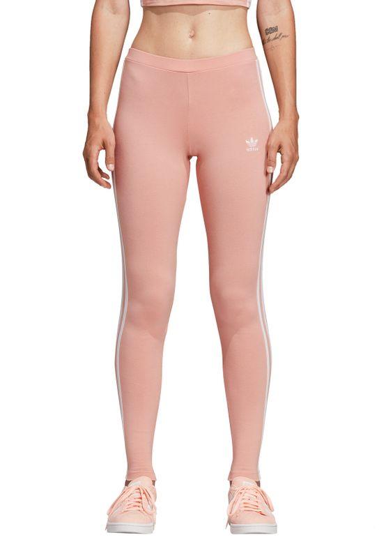 Adidas Originals Leggings Damen 3 STR TIGHT DV2617 Rosa – Bild 2