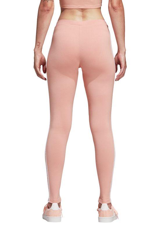 Adidas Originals Leggings Damen 3 STR TIGHT DV2617 Rosa – Bild 4