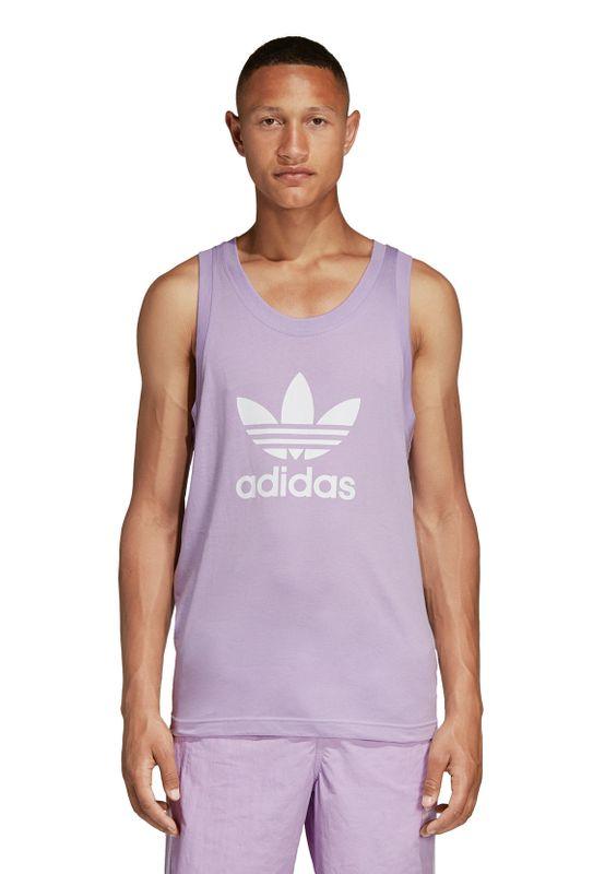 Adidas Originals Tank Herren TREFOIL TANK DV1507 Violett – Bild 2