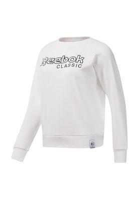 Rebook Sweater Damen AC ICONIC FL CREW DT7275 Weiss – Bild 0