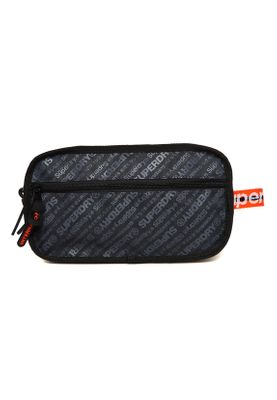 Superdry Tasche S BOY WASHBAG Dark Marl – Bild 1