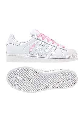 Adidas Originals Sneaker SUPERSTAR J CG6617 Weiss Pink – Bild 0