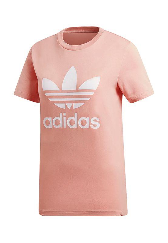 Adidas Originals T-Shirt Damen TREFOIL TEE DV2587 Rosa – Bild 0