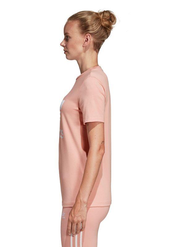 Adidas Originals T-Shirt Damen TREFOIL TEE DV2587 Rosa – Bild 2