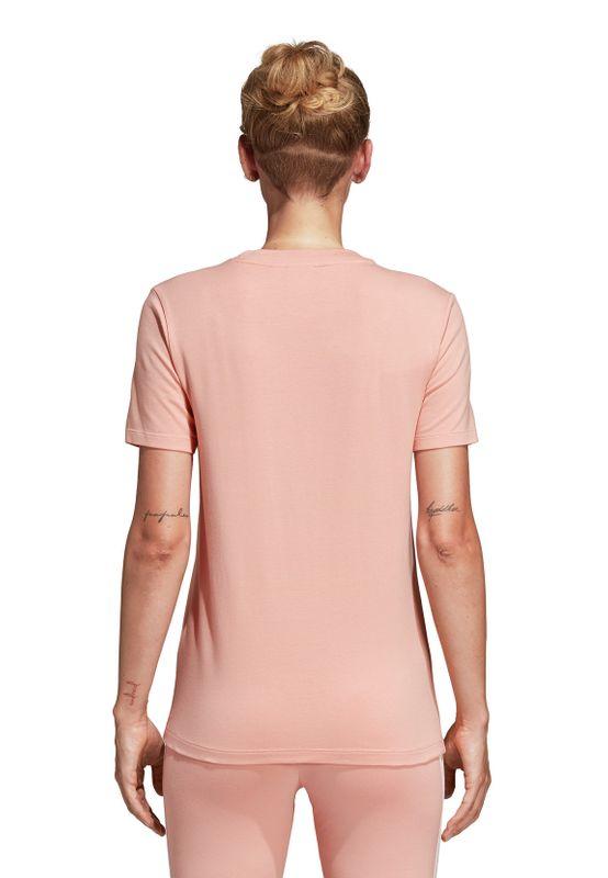 Adidas Originals T-Shirt Damen TREFOIL TEE DV2587 Rosa – Bild 3