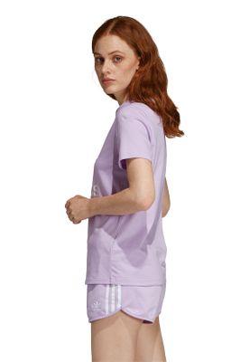 Adidas Originals T-Shirt Damen TREFOIL TEE DV2595 Lila – Bild 2