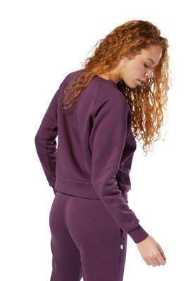 Rebook Sweater Damen AC ICONIC FL CREW DT7273 Lila – Bild 3