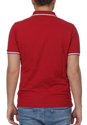 Sergio Tacchini Polo Herren SERGIO 017 POLO 37387 Apple Red – Bild 1