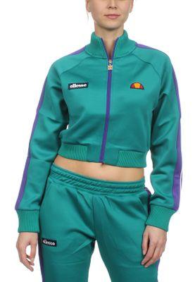 Ellesse Trainingsjacke Damen PINZO TRACK TOP Grün Teal – Bild 0
