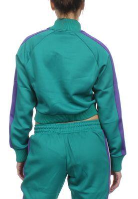 Ellesse Trainingsjacke Damen PINZO TRACK TOP Grün Teal – Bild 1