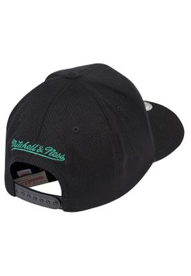 Mitchell & Ness Cap INTL283 BOSTON CELTICS Schwarz – Bild 1