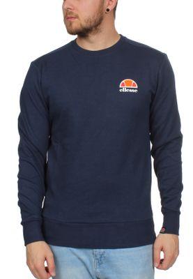 Ellesse Sweater Herren ANGUILLA SWEATSHIRT Dunkelblau Navy – Bild 0