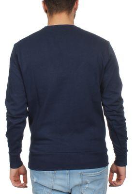 Ellesse Sweater Herren ANGUILLA SWEATSHIRT Dunkelblau Navy – Bild 1