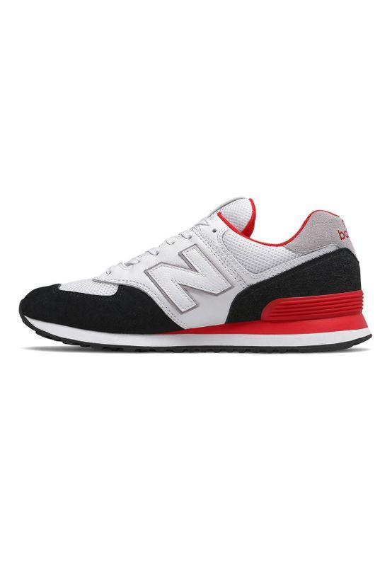 New Balance Sneaker Herren ML574NSB Mehrfarbig Black Red – Bild 2