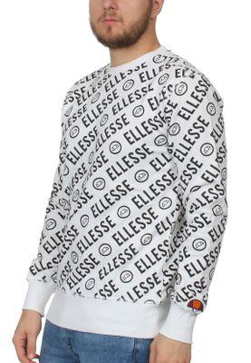 Ellesse Sweater Herren MURO CREW SWEATSHIRT Weiss White – Bild 1