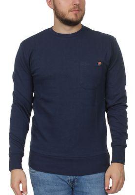 Ellesse Sweater Herren THENOR SWEATSHIRT Dunkelblau Navy – Bild 0