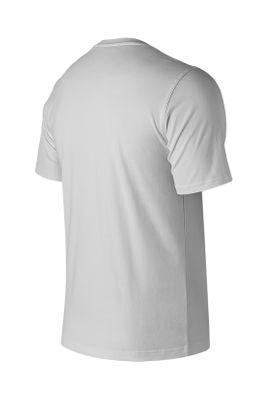 New Balance Herren T-Shirt ESSE ST LOGO TEE MT91546 Weiss White – Bild 1