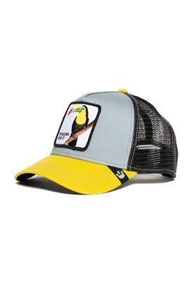 Goorin Bros. Trucker Cap IGGY NARNAR Toucan Grau Gelb