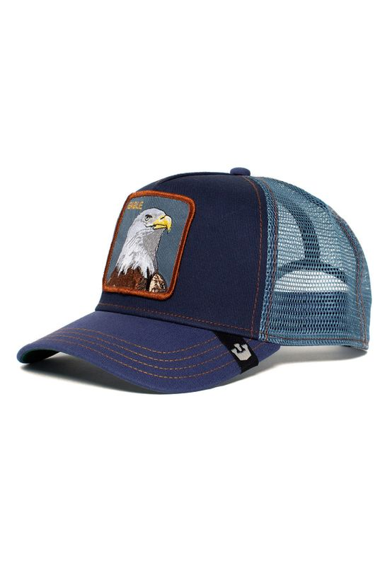 Goorin Bros. Trucker Cap FLYING EAGLE Dunkelblau