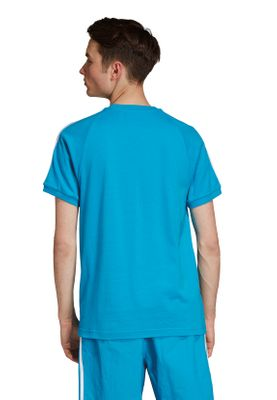 Adidas Originals T-Shirt Herren 3-STRIPES TEE DZ4587 Blau – Bild 3