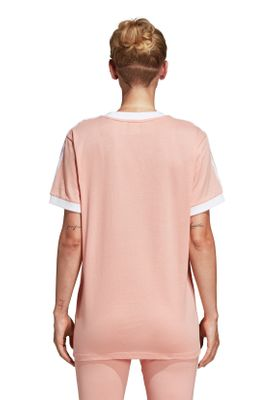 Adidas Originals T-Shirt Damen 3-STRIPES TEE DV2583 Rosa – Bild 3