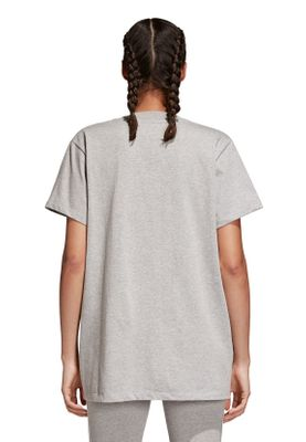Adidas Originals T-Shirt Damen BIG TREFOIL TEE CY4762 Grau – Bild 3