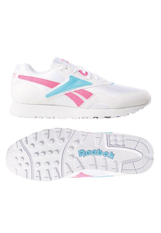 Reebok Sneaker RAPIDE MU DV3808 Mehrfarbig Wht Solar Pink/Neon Blue Ansicht