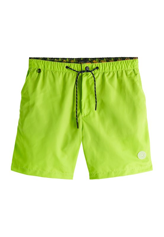 Scotch & Soda Badeshorts CLASSIC COLOURFUL SWIMSHORT 148551 Combo G 0461 Grün  Ansicht