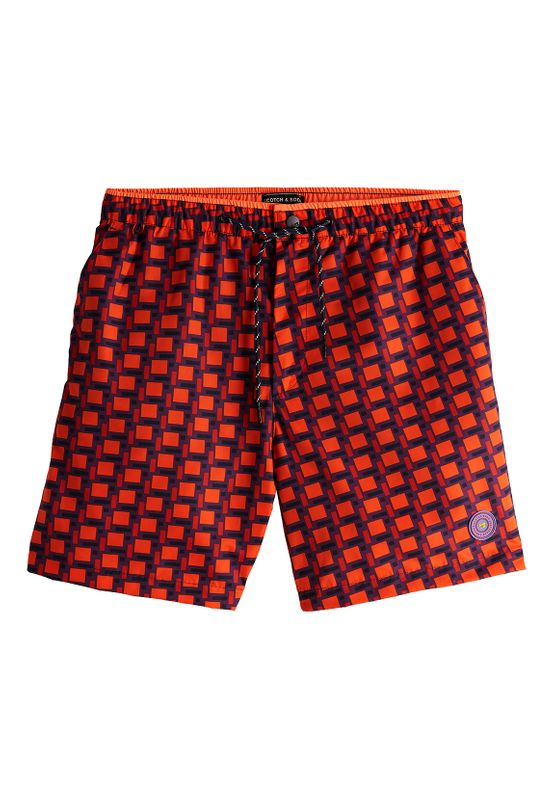 Scotch & Soda Badeshorts CLASSIC COLOURFUL SWIMSHORT 148551 Combo A 0217 Mehrfarbig Ansicht
