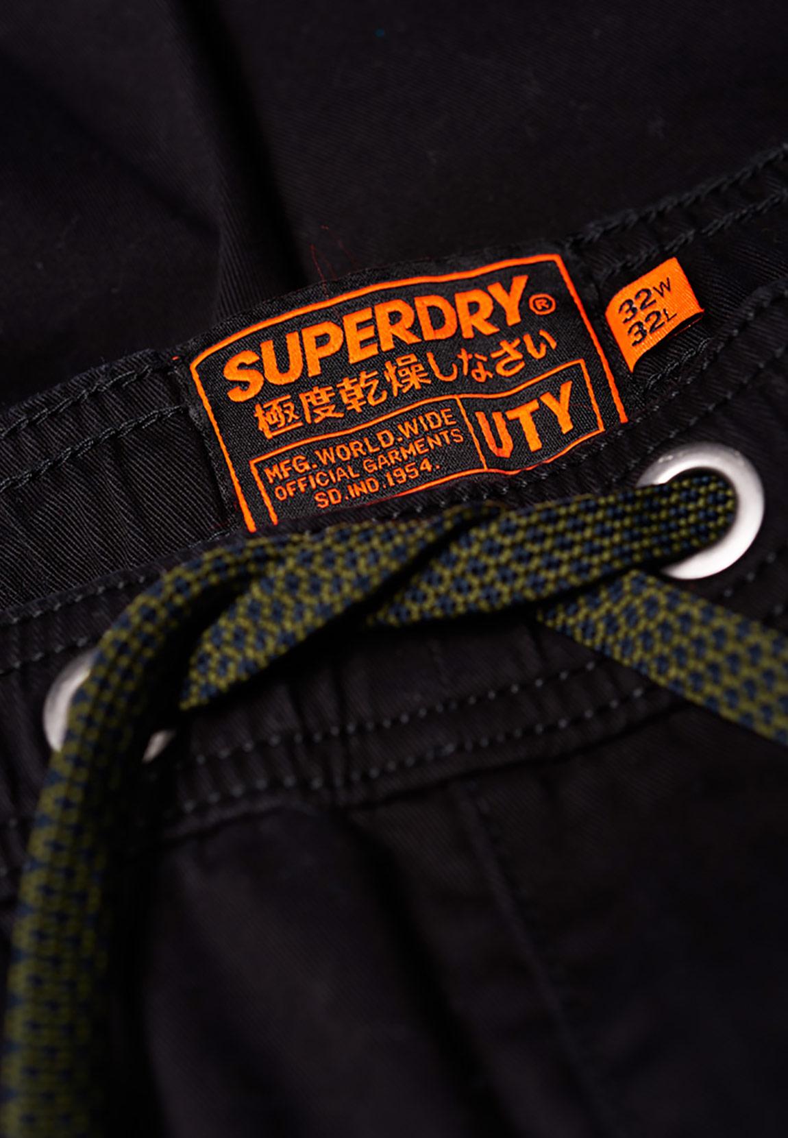 super popular e5aec d0f6e Superdry Hose Herren CORE UTILITY PANT Black