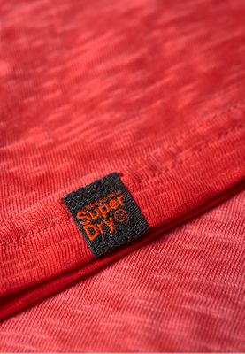 Superdry T-Shirt Herren LOW ROLLER TEE Sugar Red – Bild 3