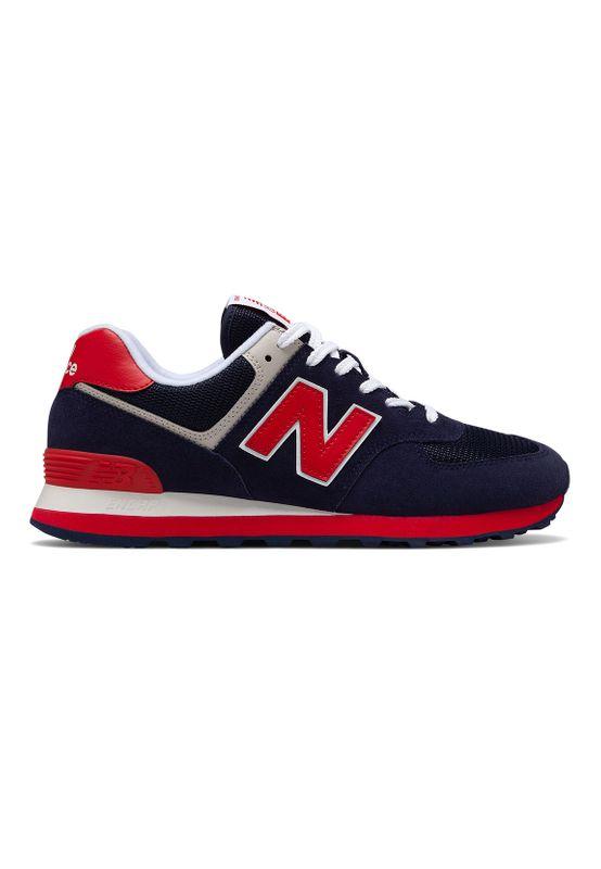 New Balance Sneaker Herren ML574MUA Blau Pigment – Bild 0