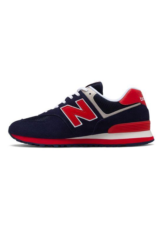 New Balance Sneaker Herren ML574MUA Blau Pigment – Bild 1