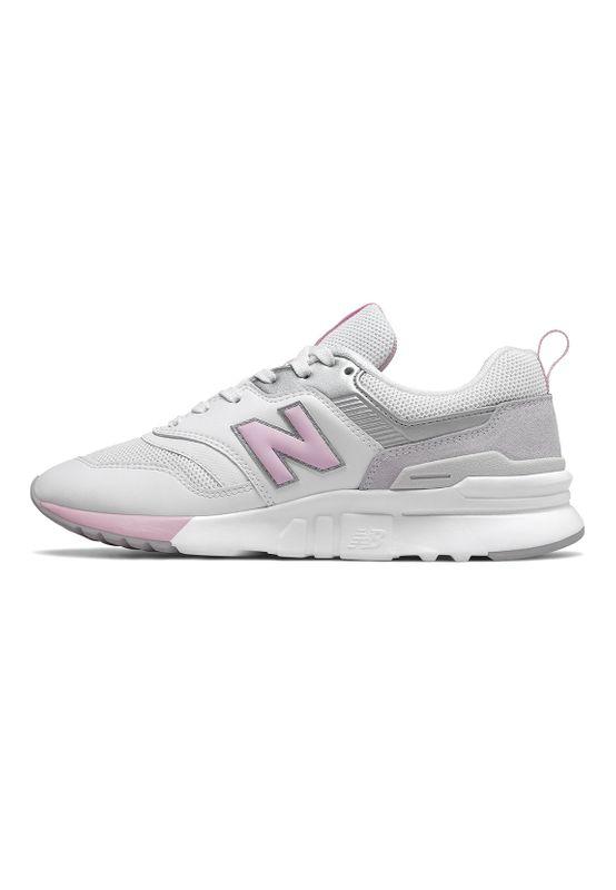 New Balance Sneaker Damen CW997HFB Weiß White Pink – Bild 1