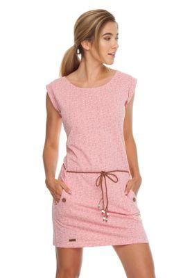 Ragwear Kleid Damen TAG DOTS 1911-20020 Rosa Coral 4005