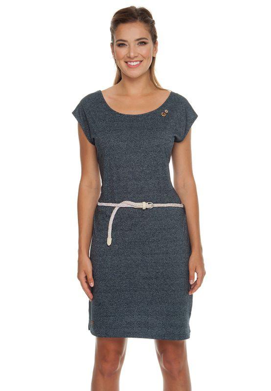 Ragwear Kleid Damen SOFIA DRESS 1911-20007 Dunkelblau Navy 2028 Ansicht
