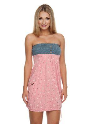 Ragwear Kleid Damen SCENE 1911-20005 Rosa Coral 4005
