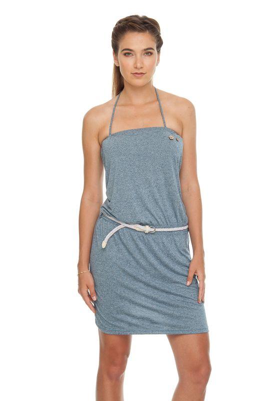 Ragwear Kleid Damen CHICKA 1911-20004 Blau Denim Blue 2010 Ansicht