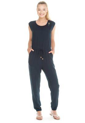 Ragwear Jumpsuit Damen NOVEEL1911-75006 Dunkelblau Navy 2028