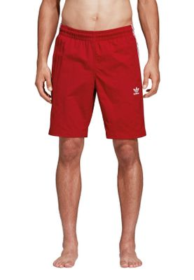 Adidas Originals Herren Badehose 3 STRIPES SWIM DV1585 Rot – Bild 1