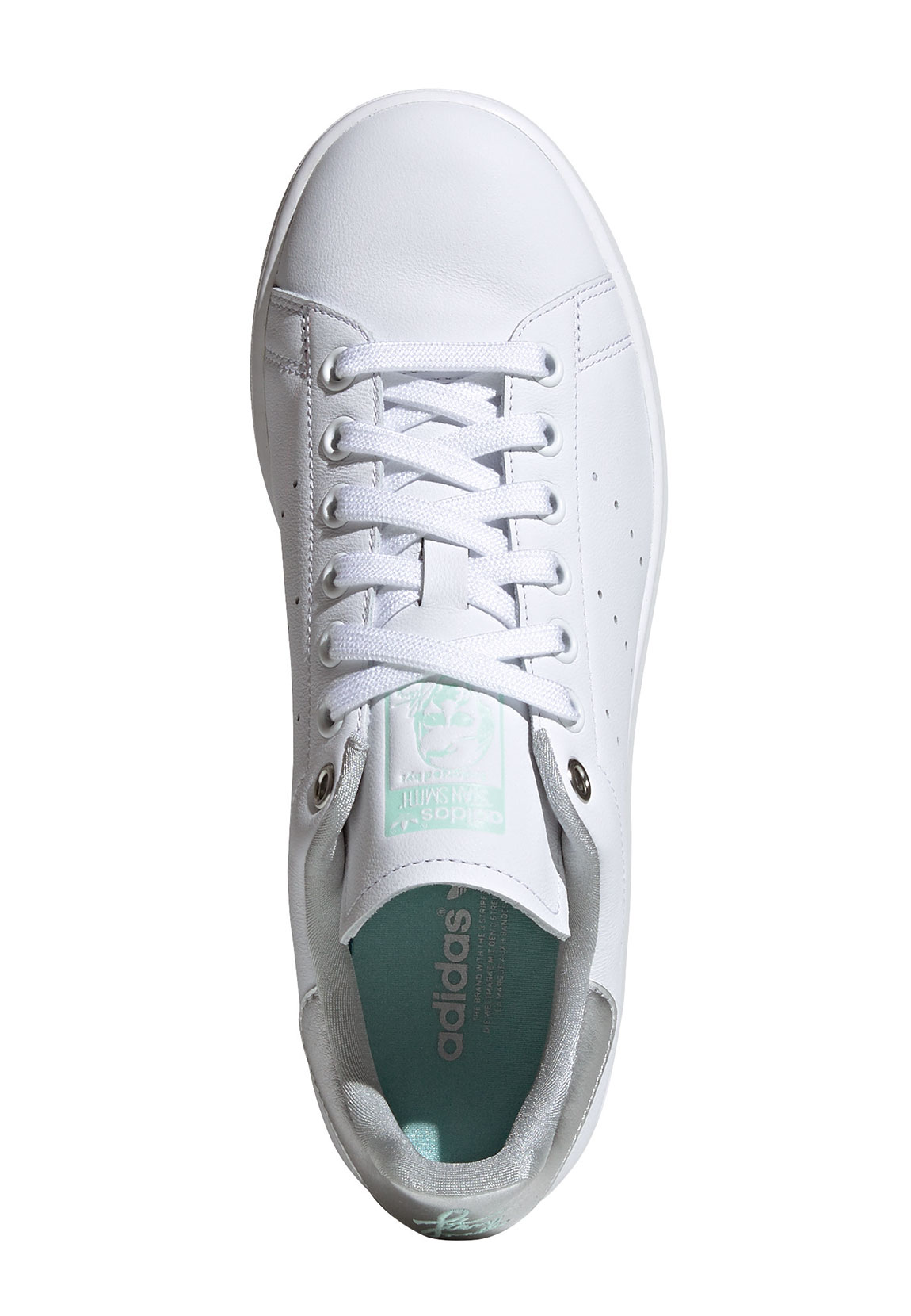 Details about Adidas Originals Trainers Stan Smith W G27907 White Silver