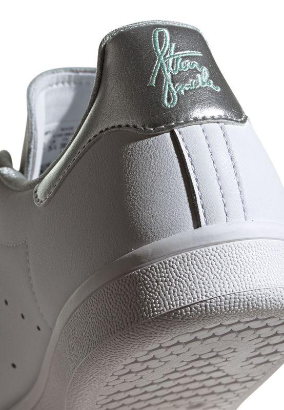 Adidas Originals Sneaker STAN SMITH W G27907 Weiss Silber – Bild 6