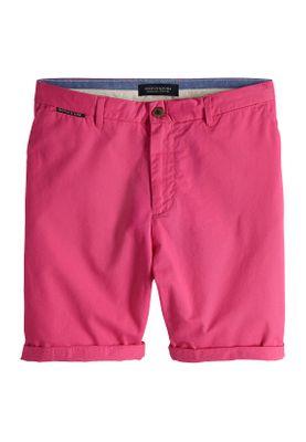 Scotch & Soda Short Herren CLASSIC CHINO 148907 Magenta 1659 Pink
