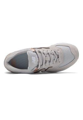 New Balance Sneaker Damen WL574MEB Grau Rain Cloud/ Gris – Bild 2