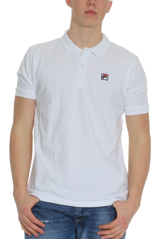 Fila Polo Herren EDGAR POLO SS 682394 M67 Weiss Bright White Ansicht