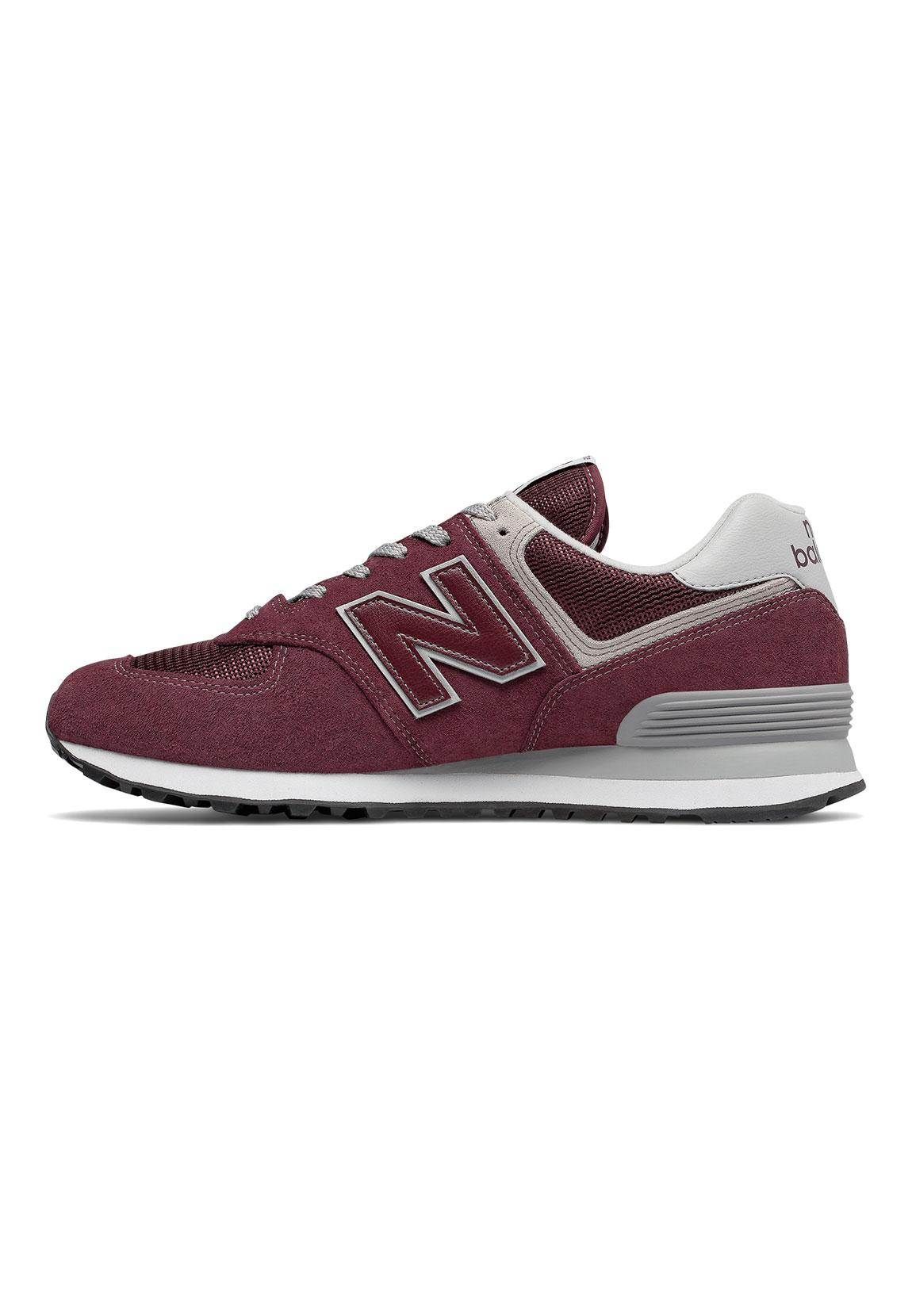 new balance sneaker herren ml574egb dunkelrot burgundy. Black Bedroom Furniture Sets. Home Design Ideas
