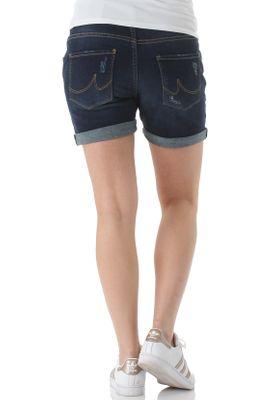 LTB Shorts Damen BECKY X Dunkelblau Lowir Wash – Bild 2
